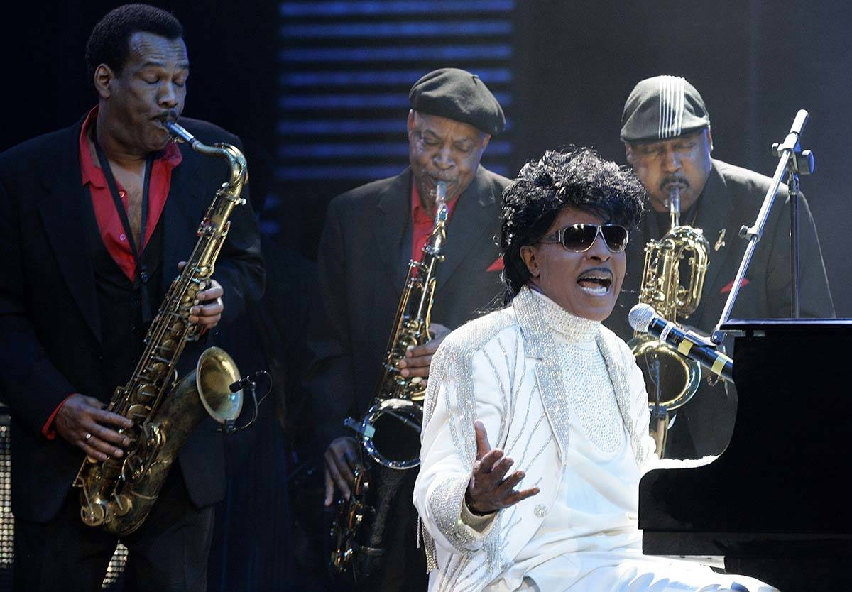 In this May 30, 2009 file photo, Little Richard performs at The Domino Effect, a tribute concer ...