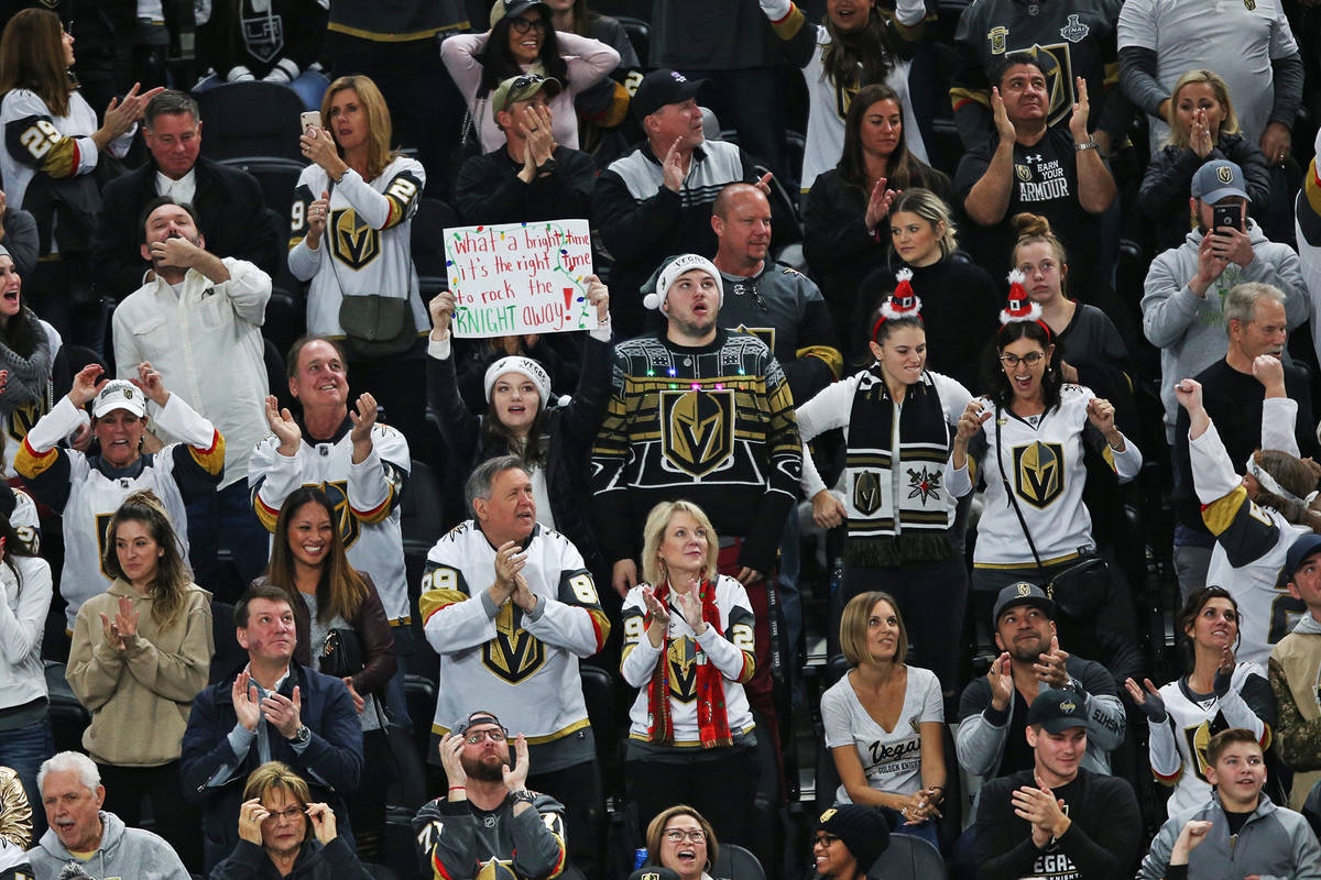 Golden Knights begin process to pay arena employees