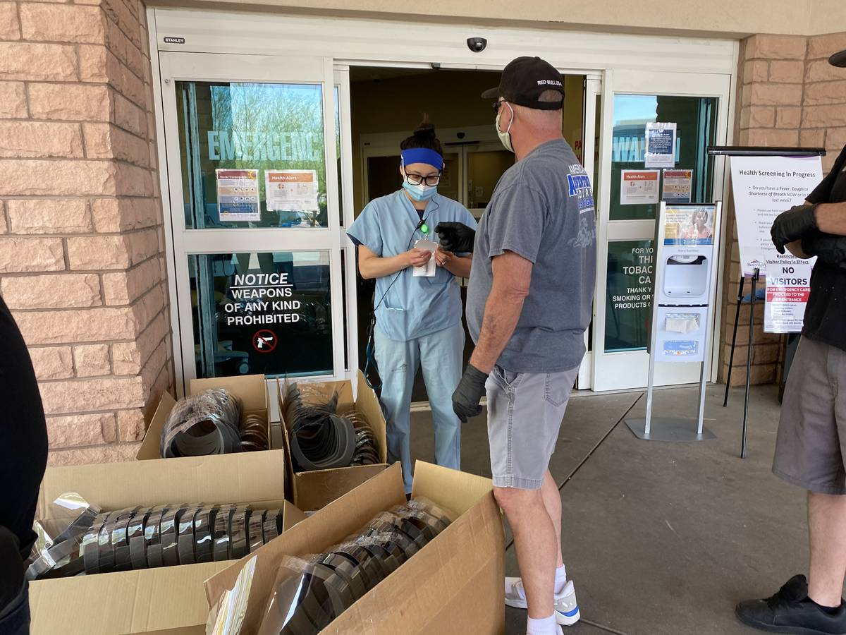 American Adventure Tours owner Rick Wyatt and his employees have donated masks and face shields ...