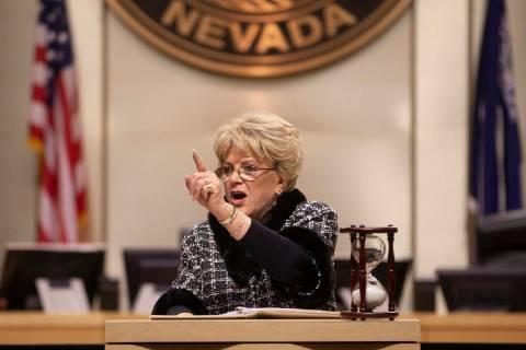Las Vegas Mayor Carolyn Goodman. (Benjamin Hager/Las Vegas Review-Journal) @benjaminhphoto
