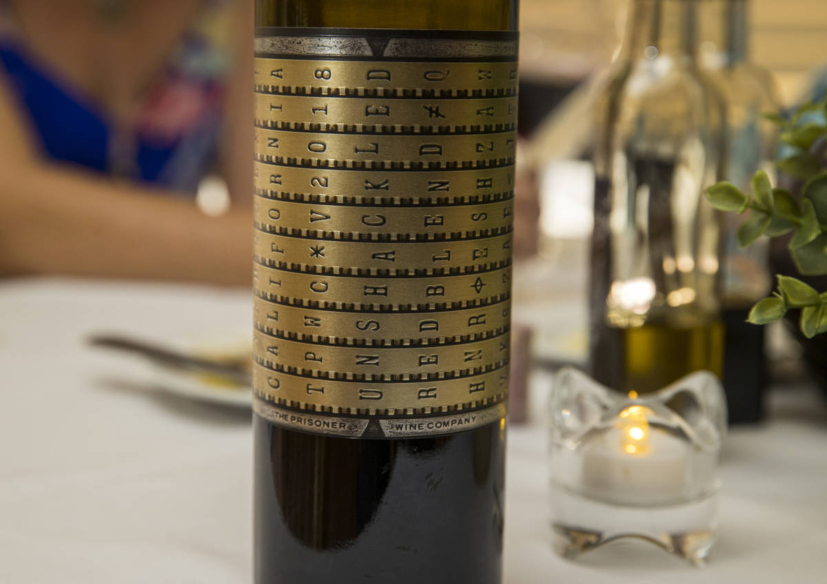 Diners can choose some Unshackled red wine to accompany their Mother's Day meals at D'Agostino' ...