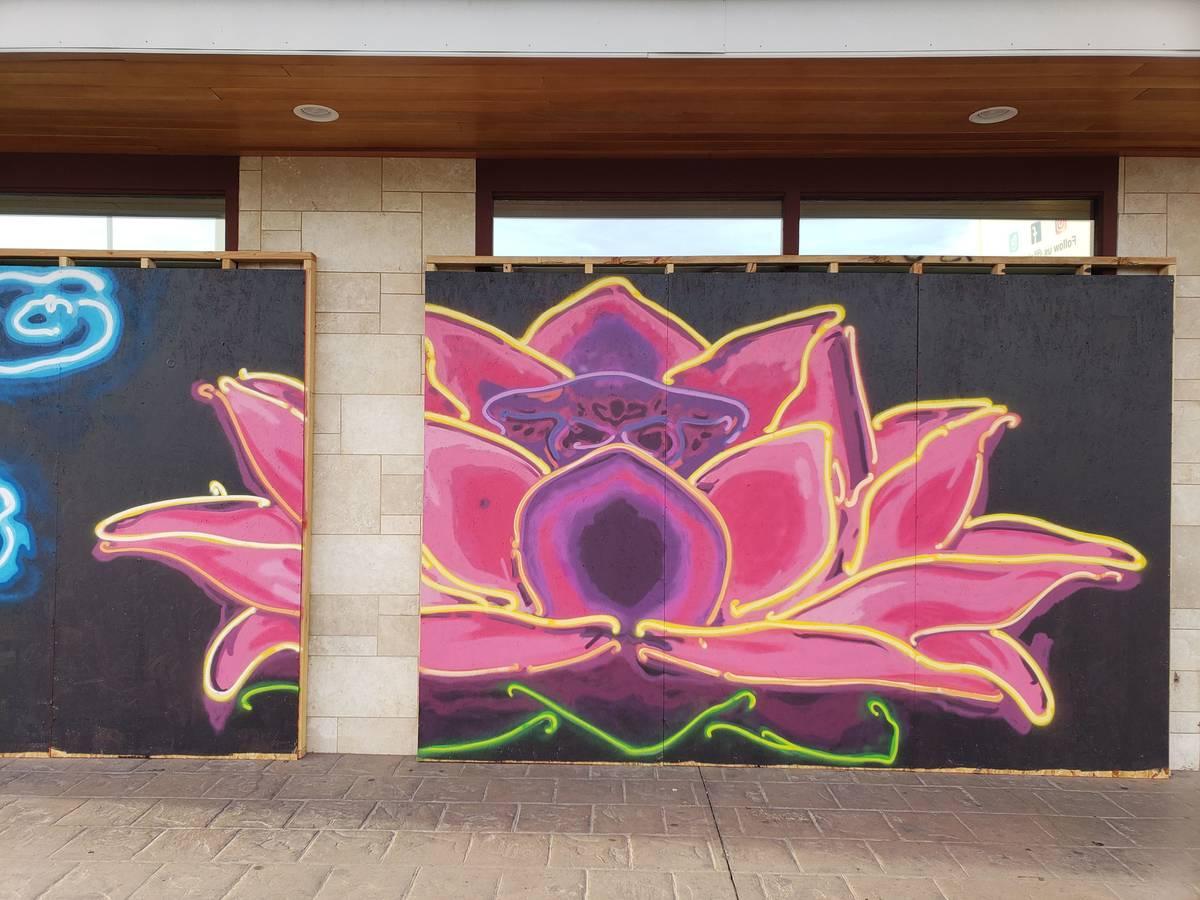 Jerry Misko completed seven murals in Las Vegas, (Jerry Misko)