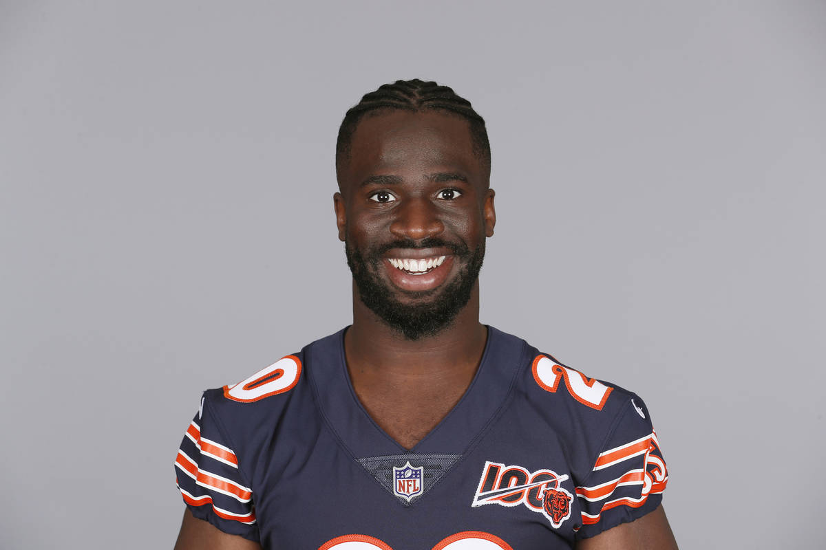 This is a 2019 photo of Prince Amukamara of the Chicago Bears NFL football team. This image ref ...