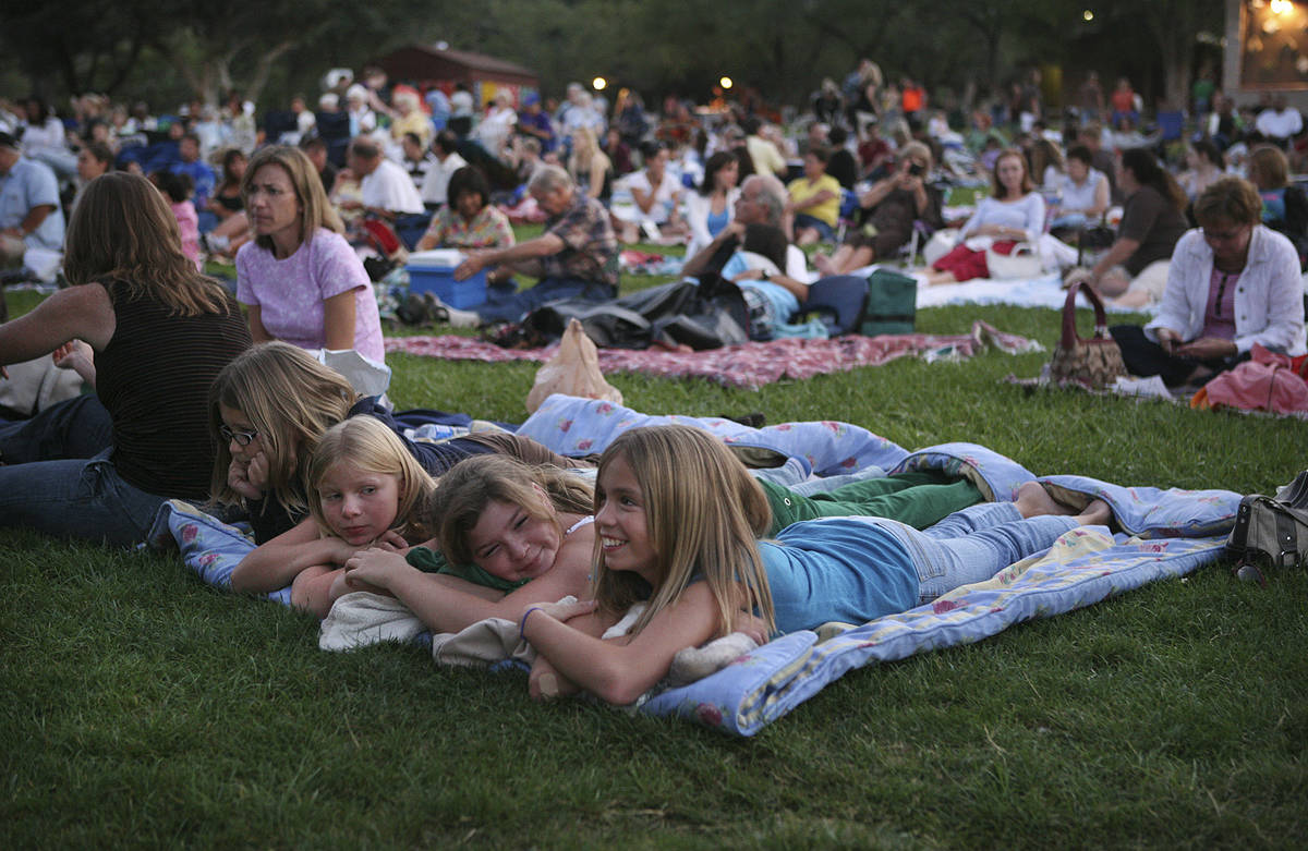 Super Summer Theatre 2008 at Spring Mountain Ranch presented the Las Vegas Contemporary Dance T ...