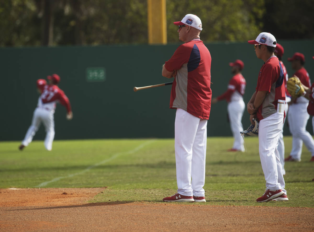 Matt Wiliams is the new manager for the Kia Tigers, a South Korean professional baseball team t ...