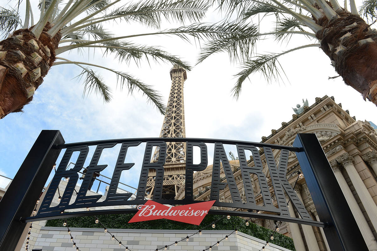 Beer Park at Paris Las Vegas has reopened. (Photo by Denise Truscello/WireImage)