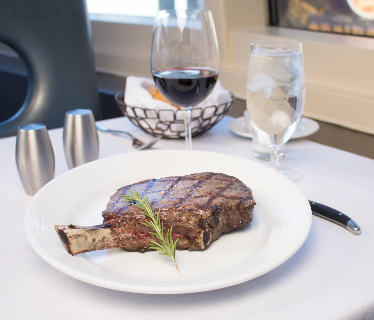 Oscar's Steakhouse at the Plaza will reopen for dinner service on June 18. (Oscar's Steakhouse)