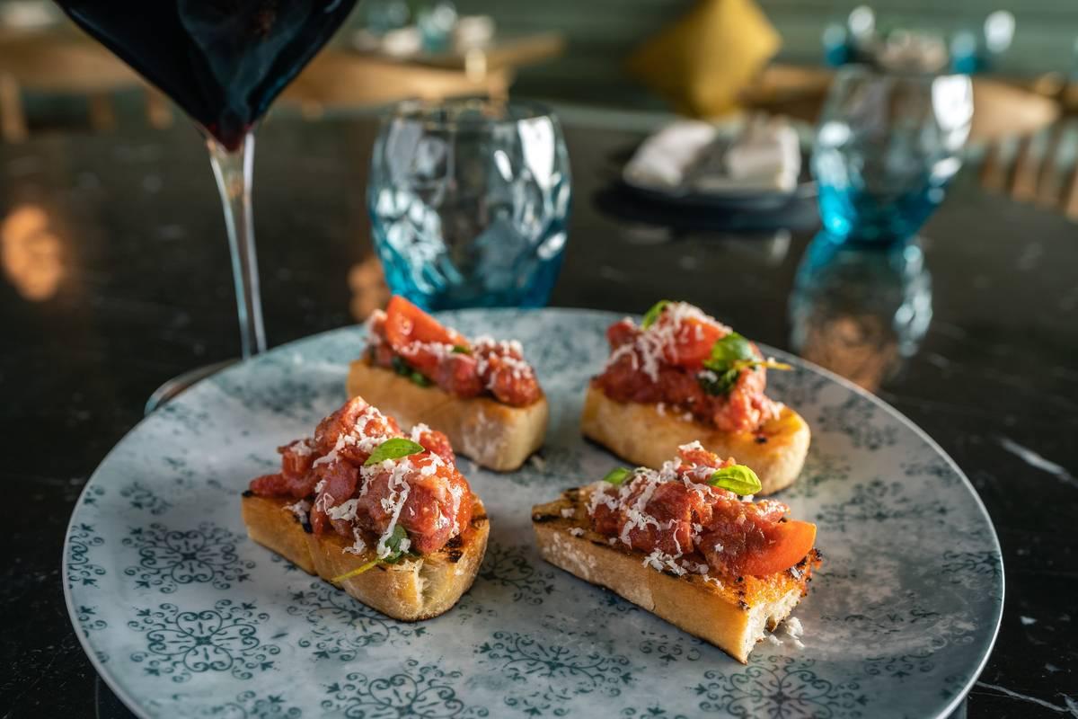 Chef Gina Marinelli's La Strega will restart dine-in service on Wednesday. (Ryan Hafey)
