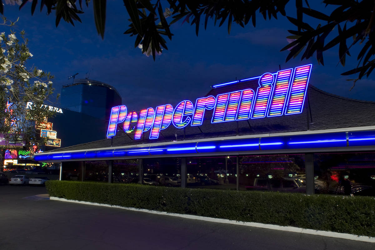 The Peppermill has reopened. (Las Vegas Review-Journal file)