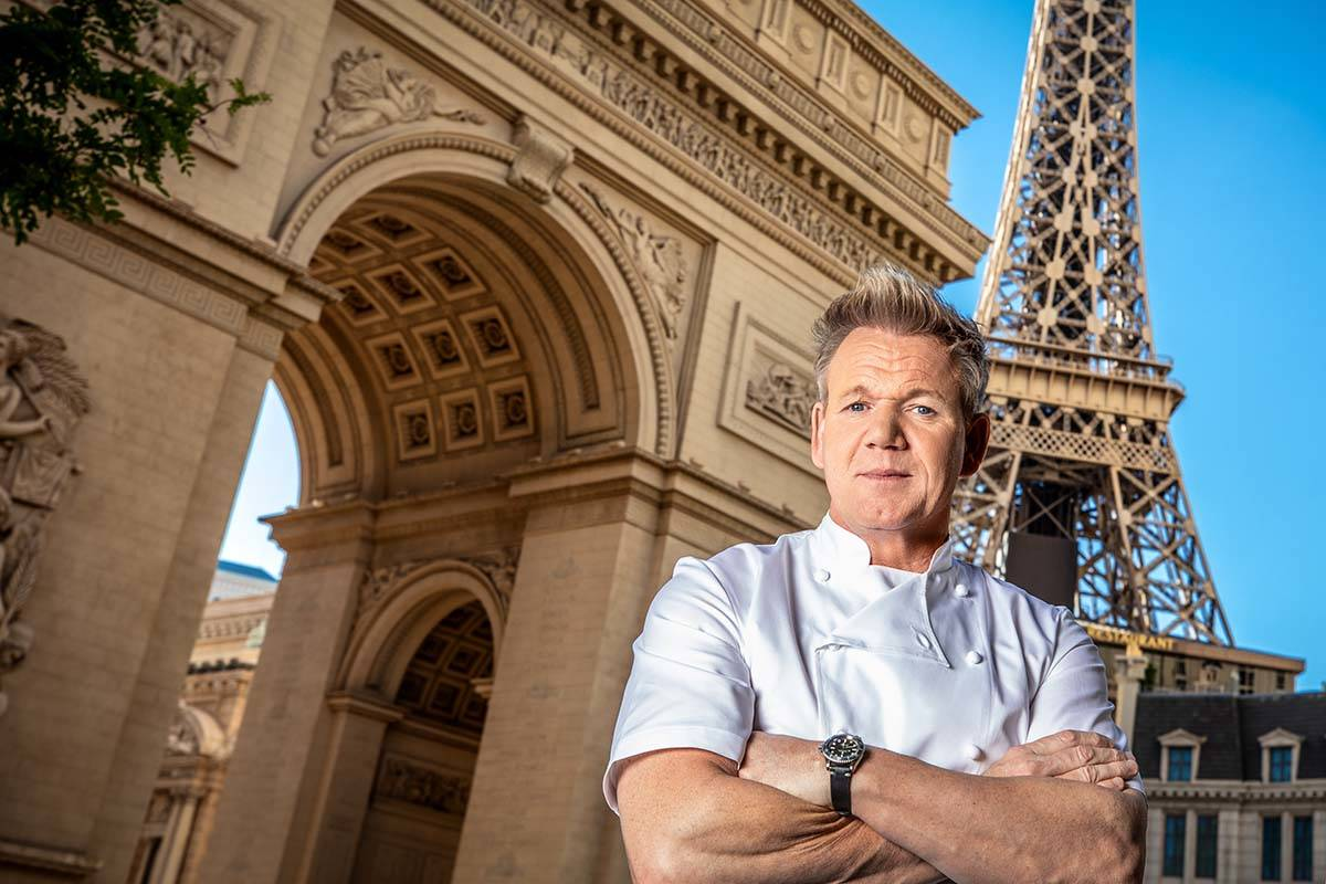 Gordon Ramsay Steak at Paris Las Vegas will reopen June 18. (Kabik/Retna Digital)