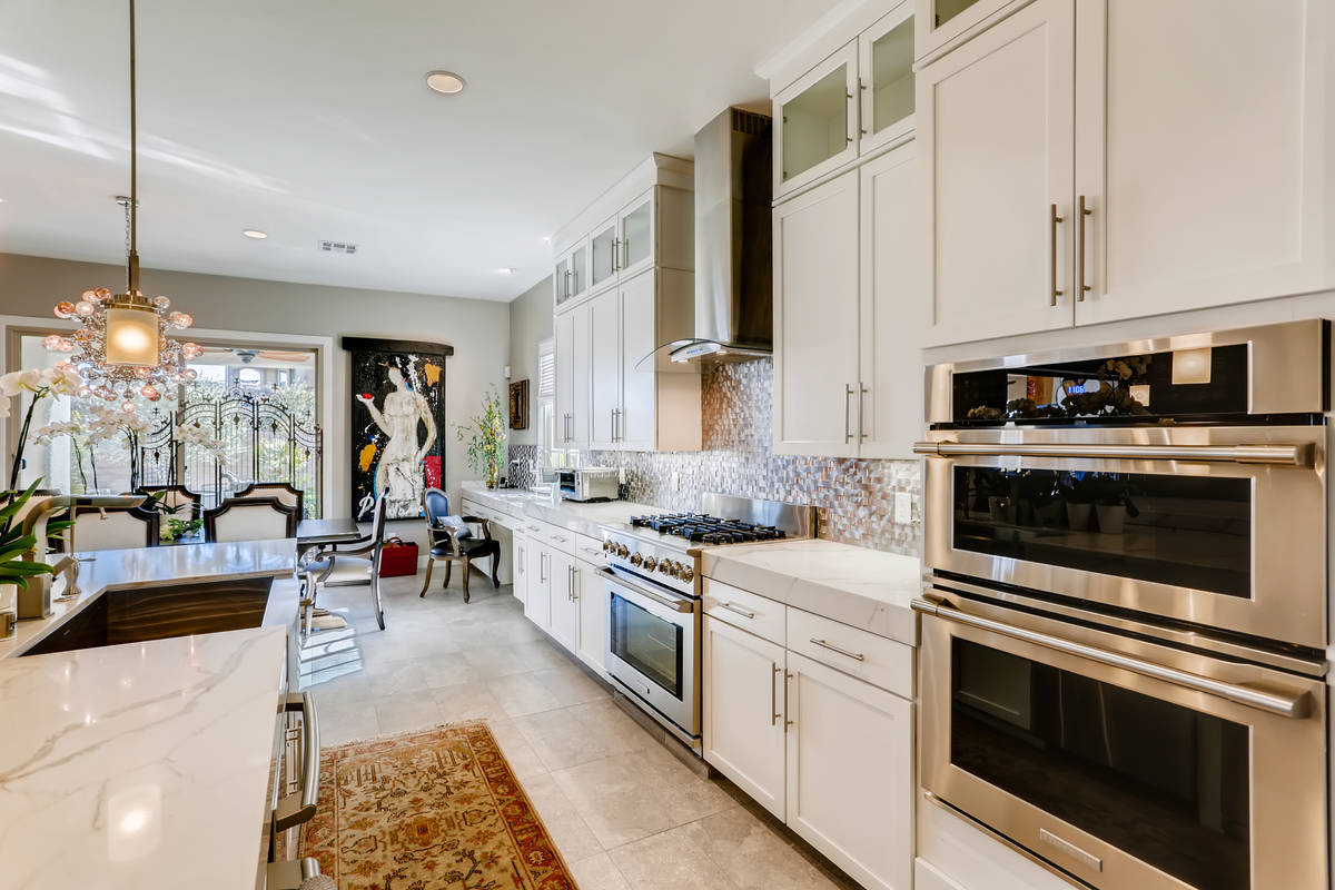 The kitchen has upgraded appliances. (Realty One Group)