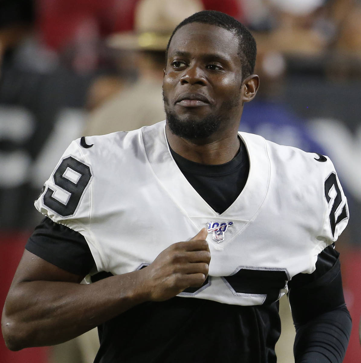 Oakland Raiders free safety Lamarcus Joyner (29) during an NFL preseason football game against ...