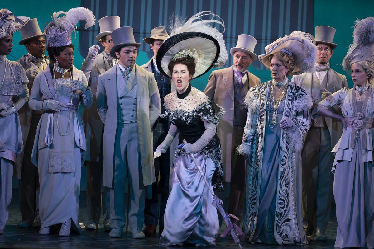"""The cast of """"My Fair Lady."""" (Joan Marcus)"""