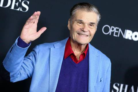 """FILE - In this Jan. 26, 2016, file photo, Fred Willard attends the LA Premiere of """"50 Shad ..."""