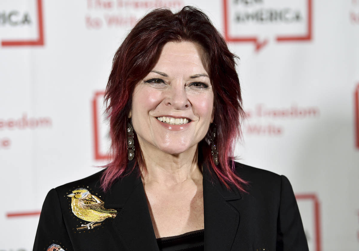 FILE - In this May 22, 2018, file photo, Rosanne Cash attends the 2018 PEN Literary Gala in New ...