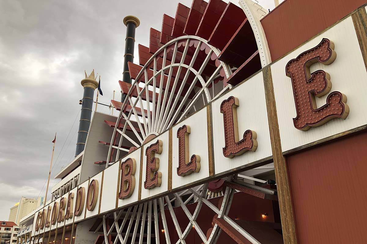 The Colorado Belle in Laughlin will remain closed permanently. (Todd Prince/Las Vegas Review-Jo ...