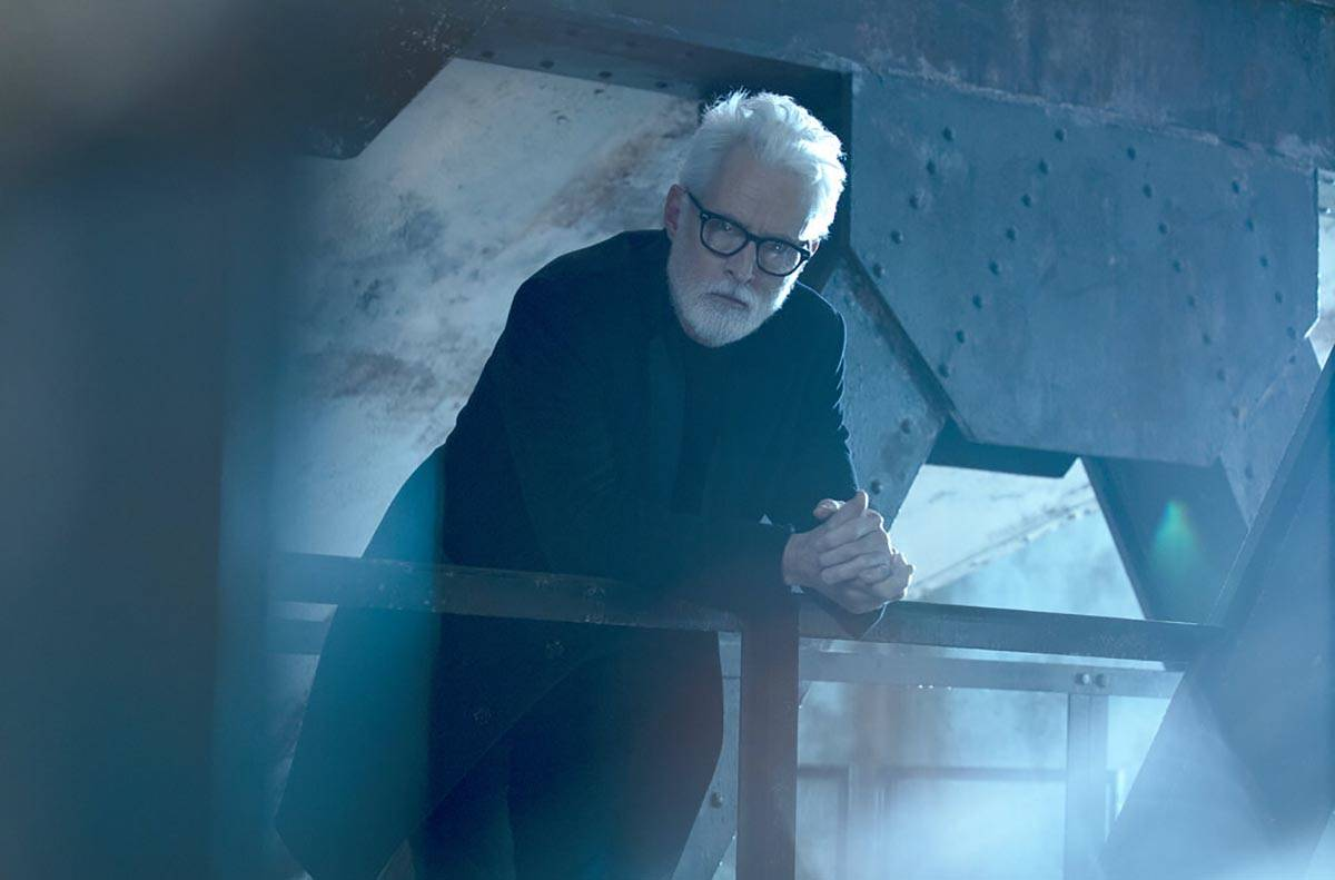 """This image released by FOX shows John Slattery in a scene from """"NEXT,"""" premiering thi ..."""