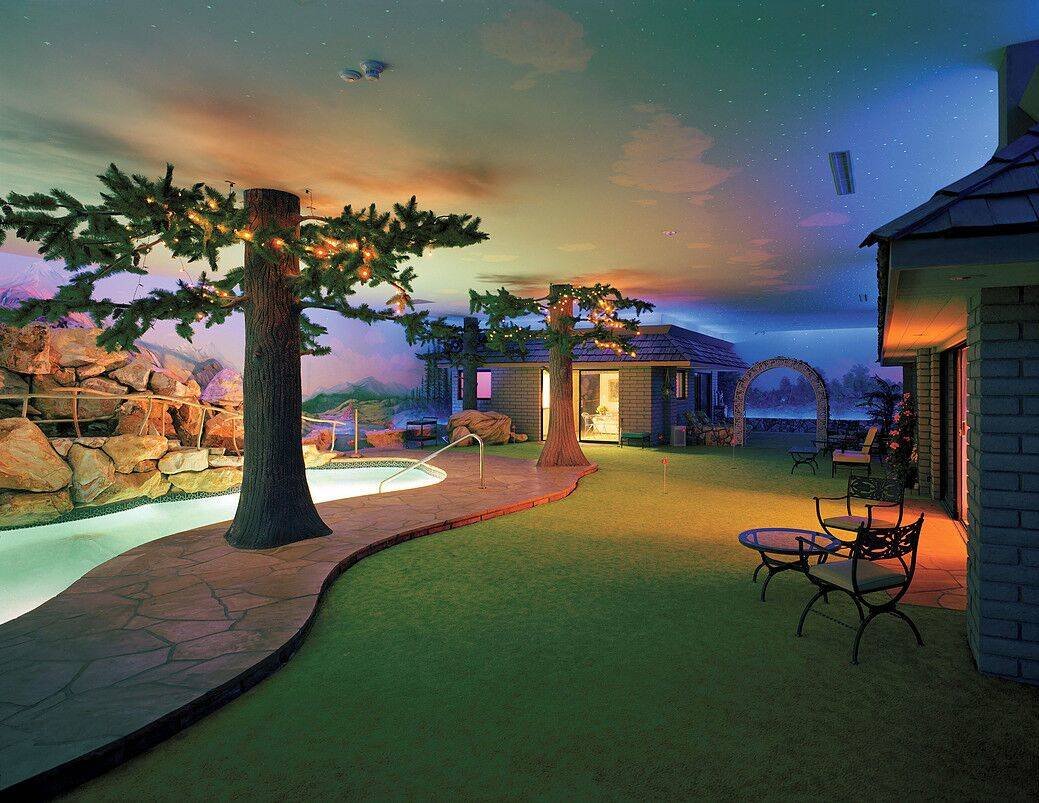 The underground house in Las Vegas, built in 1978, is for sale $18 million. (TopTenRealEstateDe ...