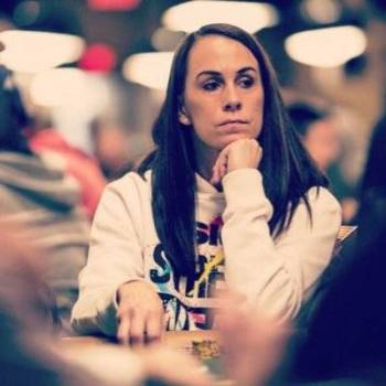 Pemain poker profesional Danielle Andersen (Twitter)