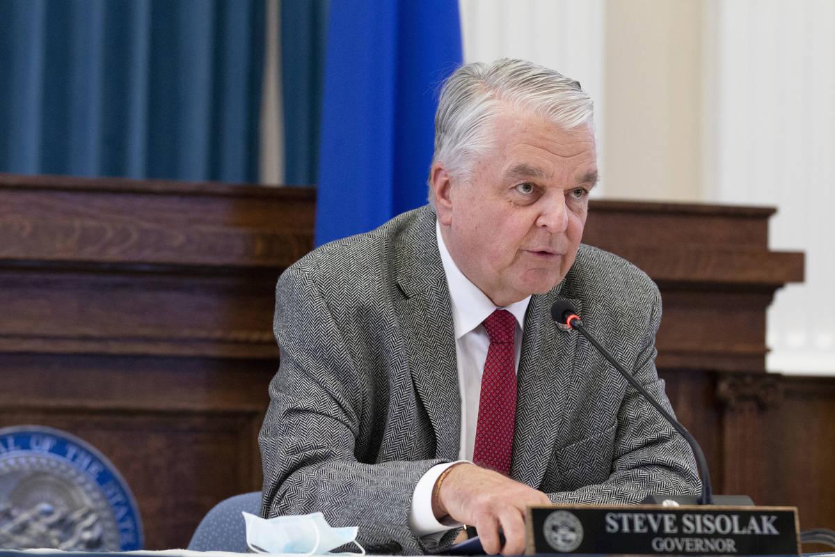 Governor Steve Sisolak (Las Vegas Review-Journal)