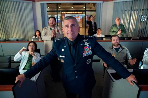 "Steve Carell stars in ""Space Force"" (Aaron Epstein/Netflix)"