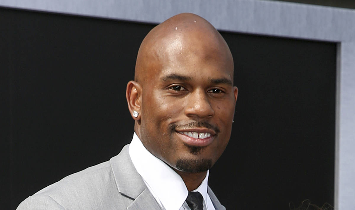 FILE - In this June 28, 2015 file photo, WWE wrestler Shad Gaspard arrives at the Los Angeles p ...