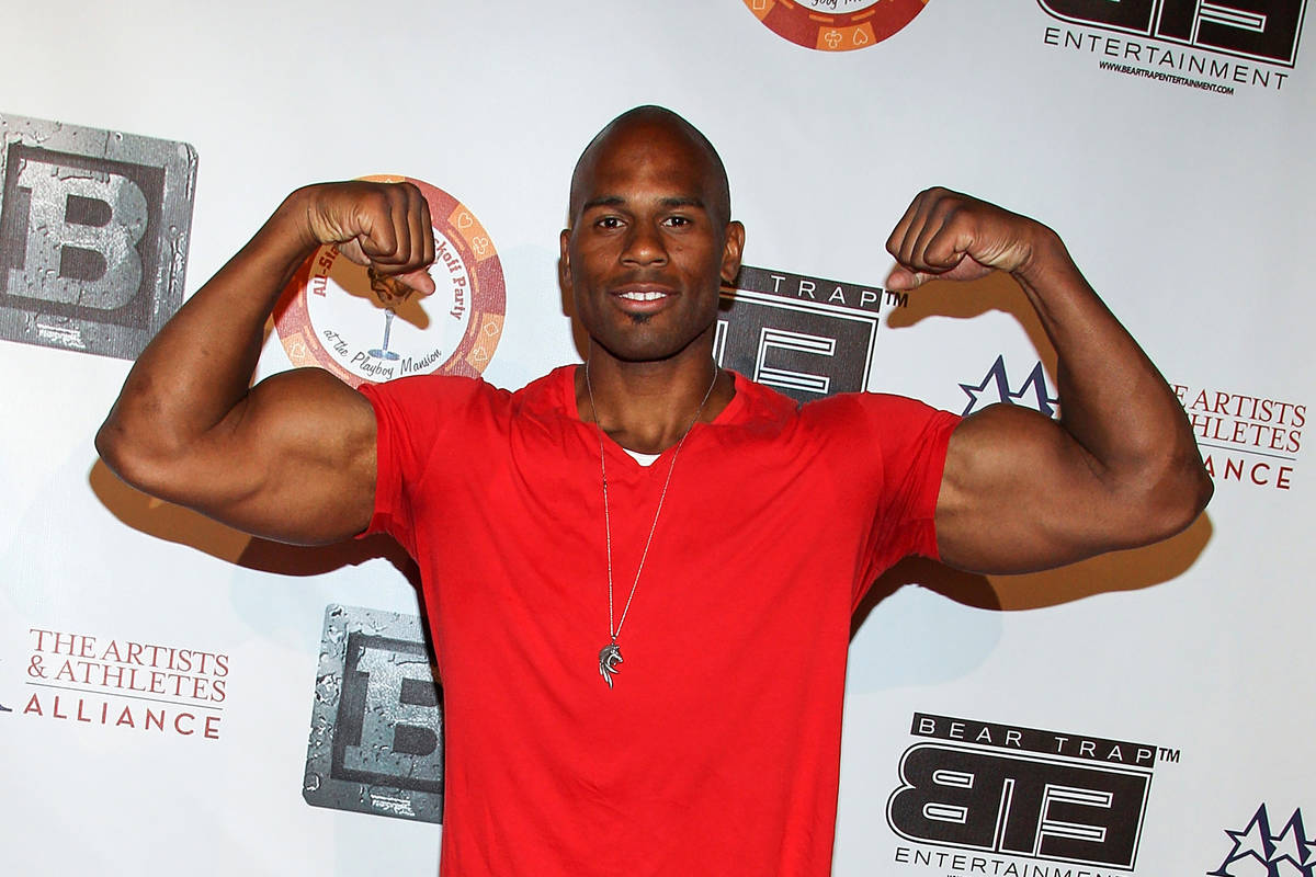 FILE - In this July 15, 2013, file photo, professional wrestler Shad Gaspard attens the 8th Ann ...