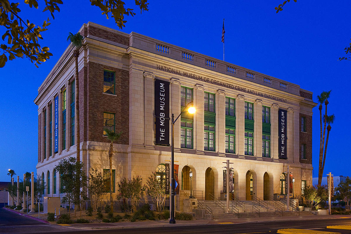 The Mob Museum is located at 300 Stewart Ave. in downtown Las Vegas. (The Mob Museum)