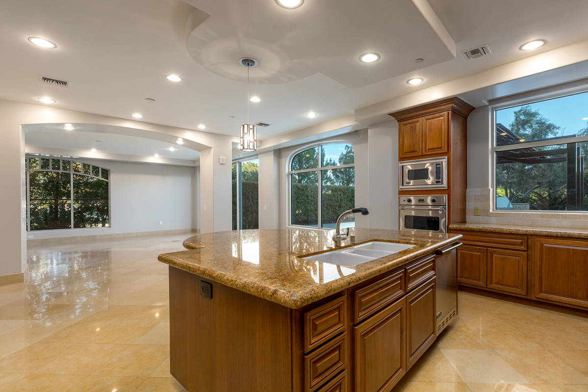 The large kitchen with Viking appliances. (The Ivan Sher Group)