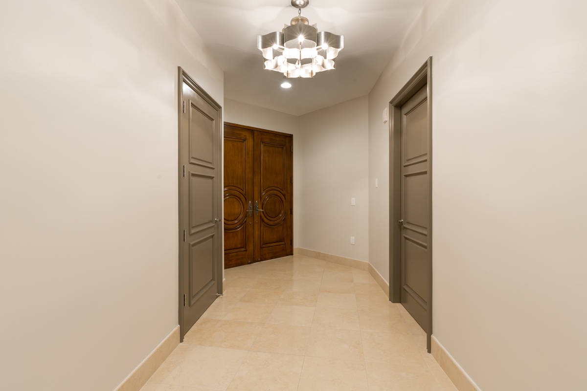 This One Queensridge Place condo measures 3,261 square feet. (The Ivan Sher Group)