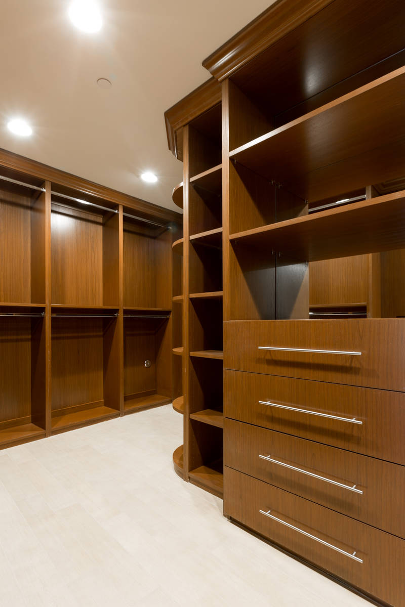 The closet. (The Ivan Sher Group)