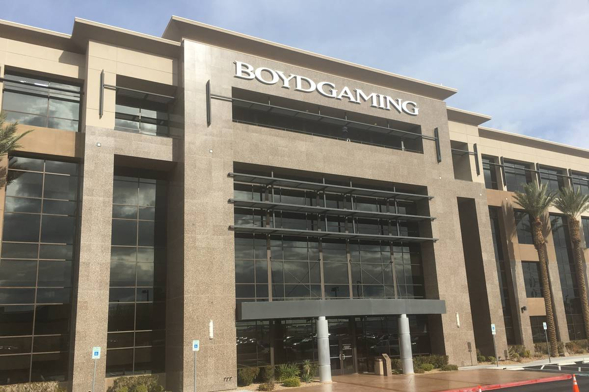 Casino operator Boyd Gaming Corp. (Eli Segall/Las Vegas Review-Journal)