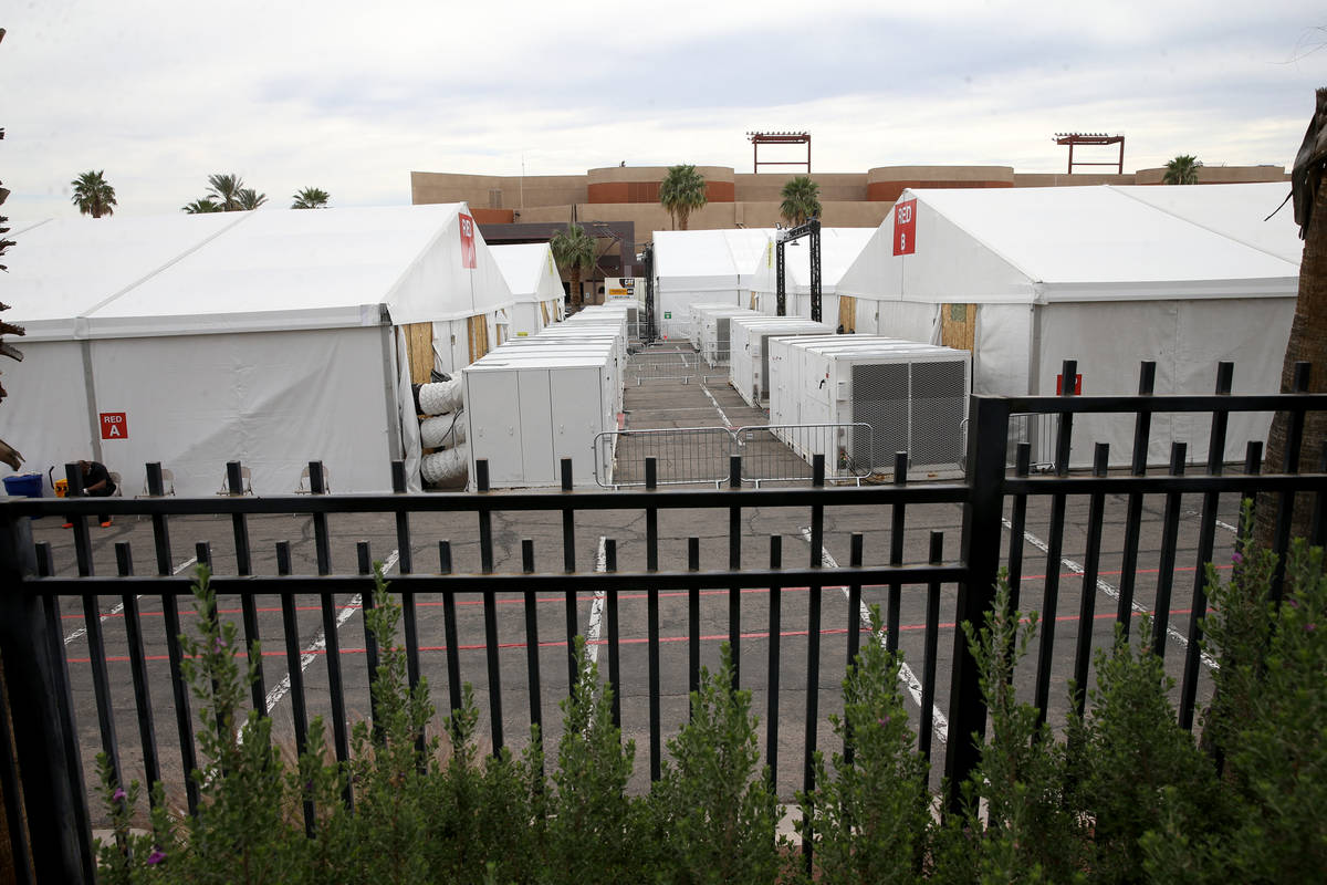 The Clark County/City of Las Vegas Isolation and Quarantine (ISO-Q) Complex in the Cashman Cent ...