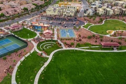 Sagemont Park is one of Summerlin's newest parks. It is near Affinity by Taylor Morrison, a n ...
