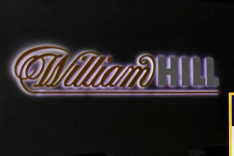 William Hill sportsbook at the SLS. Monday, April 15, 2019, in Las Vegas. (L.E. Baskow/Las Vega ...