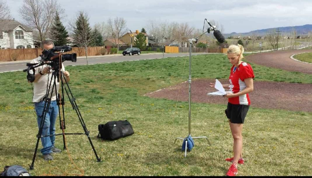 Former New Mexico kicker Katie Hnida is an advocate for sexual-assault victims. Photo courtesy ...