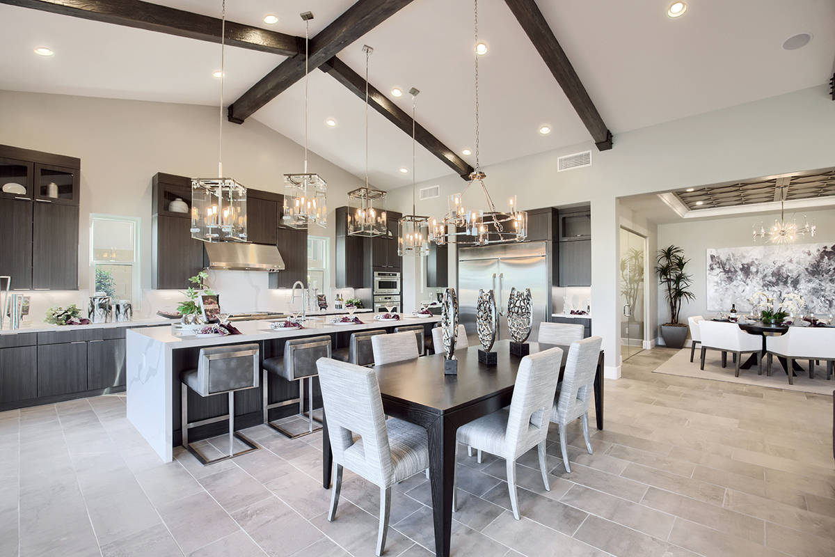 Richmond American Homes has luxury new-home communities in Summerlin. (Richmond American Homes)