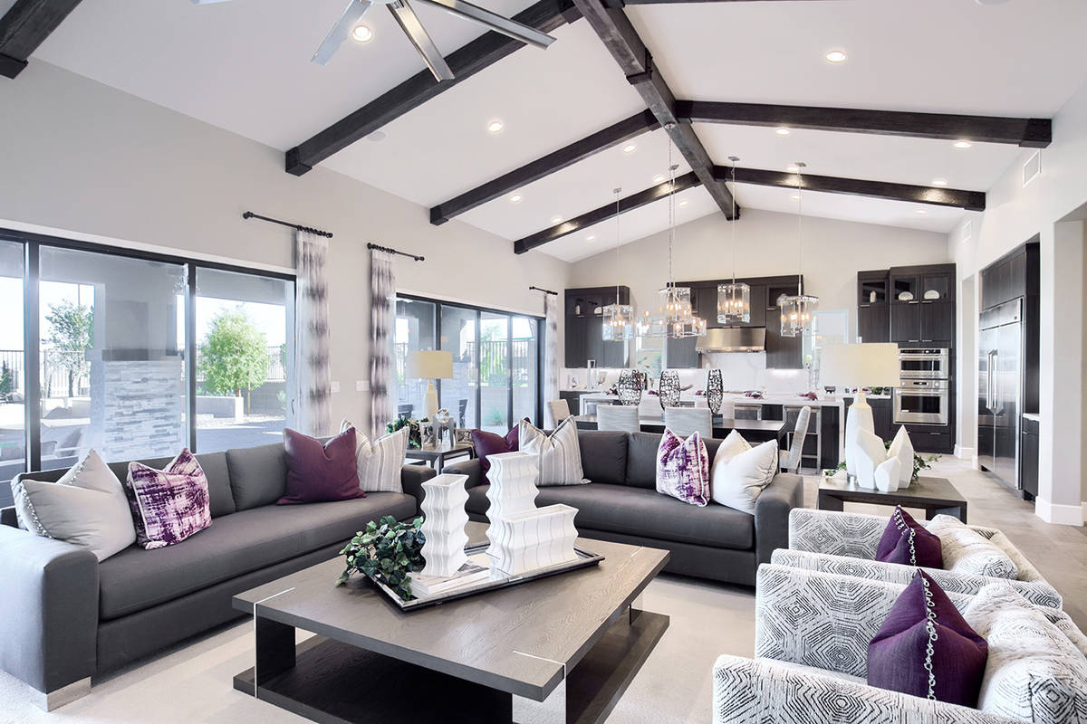Summerlin luxury communities by Richmond American Homes continues to report sales during the cr ...