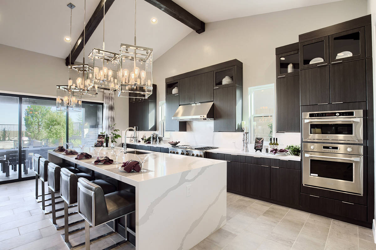 Nicole Bloom, division president at Richmond American Homes, said the high-end sales are contin ...