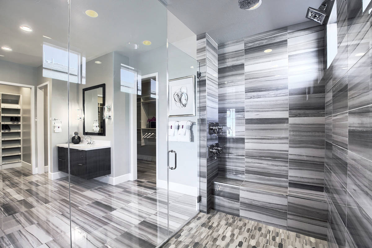 Richmond American Homes sales in Summerlin luxury communities have slowed but they continue thr ...
