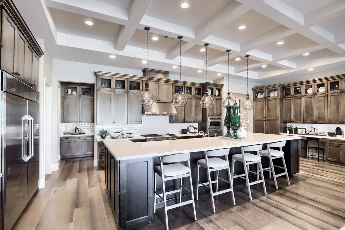 Home sales in Richmond American Homes' luxury Summerlin communities have slowed but continue du ...