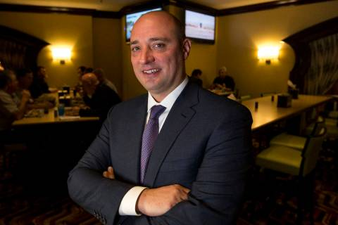 Matt Maddox, the CEO of Wynn Resorts Ltd., is seen in 2018 in Las Vegas. (Las Vegas Review-Journal)