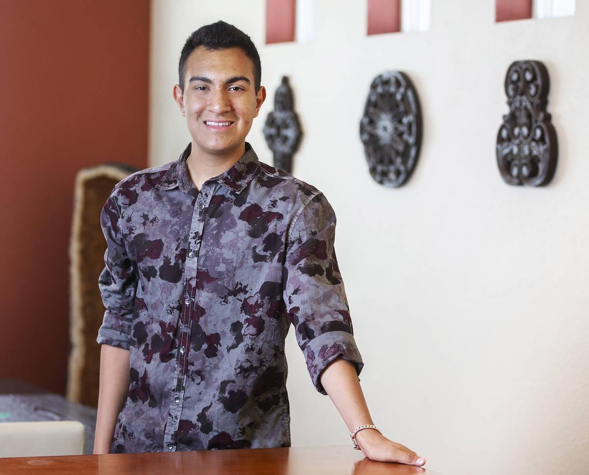 Coronado High School senior Nick Fajardo will be attending Stanford University in the fall. Pho ...
