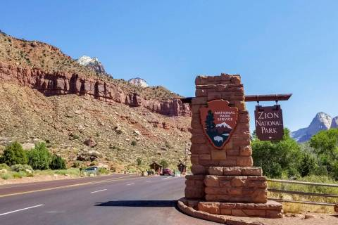 Zion National Park in Utah (Las Vegas Review-Journal)