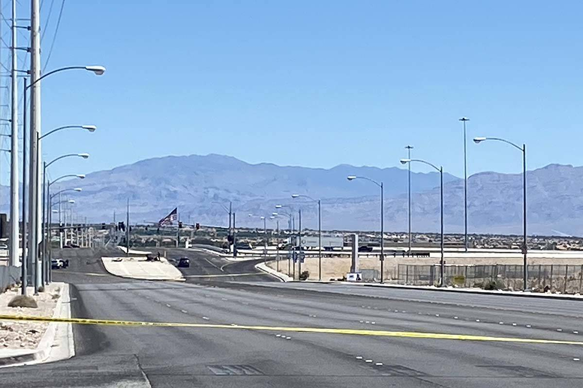 A motorcyclist was killed in a crash with another vehicle at Durango Drive and the 215 Beltway ...