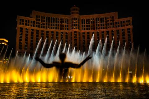 "The king emerges during the debut of the new water show based on ""Game of Thrones"" at ..."