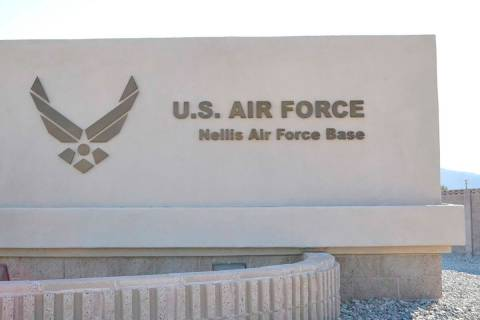 Nellis Air Force Base in Las Vegas, (Paige Malik/R-Jeneration)