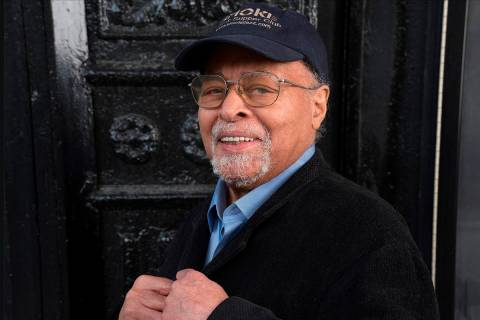 In this 2019 photo provided by Smoke Sessions Records, musician Jimmy Cobb poses for the releas ...