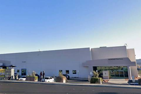 Clark County Election Department offices in North Las Vegas. (Google Street View)