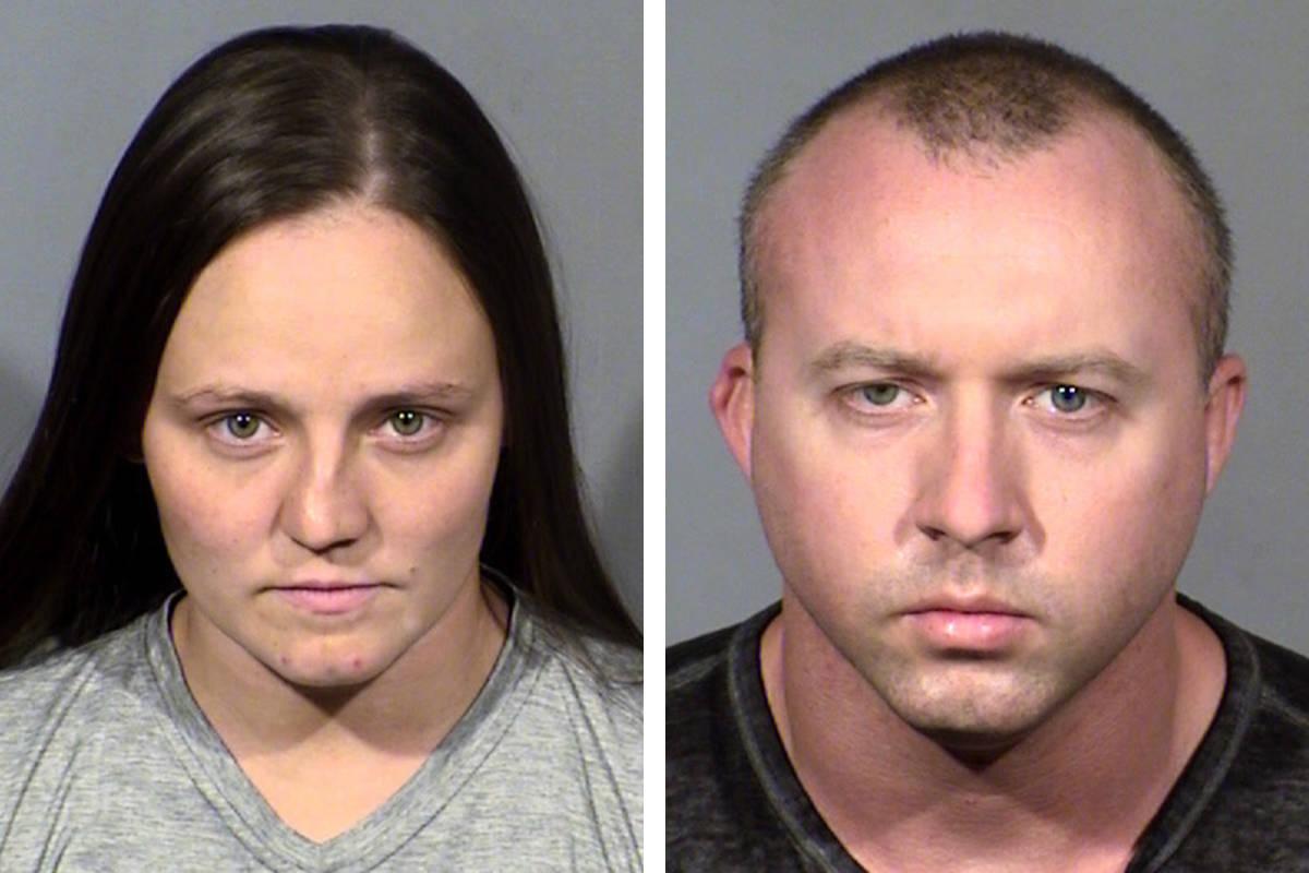 Destini Woodruff, left, and John Woodruff (Las Vegas Metropolitan Police Department)